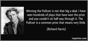 More Richard Harris Quotes