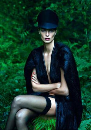 Daria Werbowy street style biography