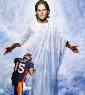 Even Jesus loves Tom Brady