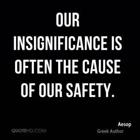 Insignificance Quotes