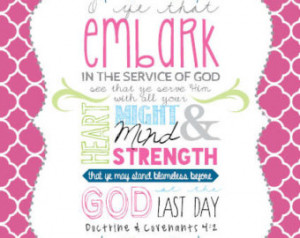 Binder COVER | Embark in the Servic e of God | 2015 Young Women Mutual ...