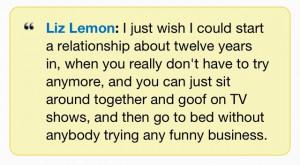 30 Rock:Liz lemon quote