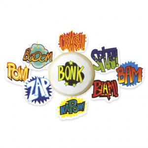 Cupcake-Edible-decals-comicbook-sayings