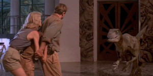 The velociraptors in the 'Jurassic Park' movies are nothing like their ...
