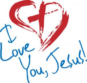 love it i love you jesus