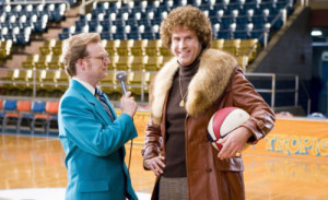 Will Ferrell, right, portraying Jackie Moon and Andrew Daly portraying ...