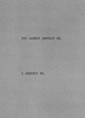 depression, destroy, quotes, deep quotes