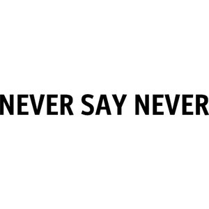 Justin Bieber, Never Say Never Quote