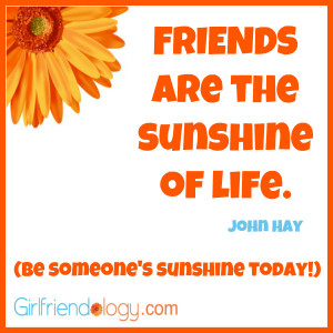 Summer Friend Quotes Sunshine, friendship quote