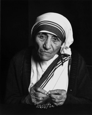 Yousuf Karsh: Mother Teresa, 1988At the residence of the Archbishop of ...