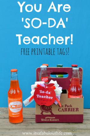 Soda Quotes For Teachers. QuotesGram