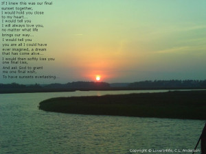 The Final Sunset...