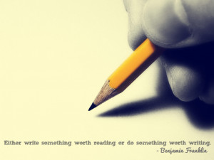 Writing Quotes HD Wallpaper 16