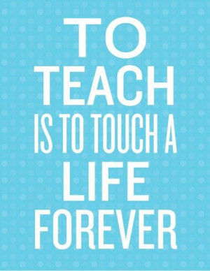 ... by their teacher. Relationships are essential to positive life impact