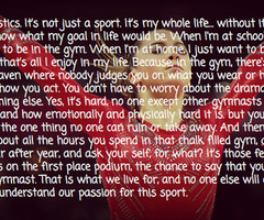 gymnastics gymnast quote images