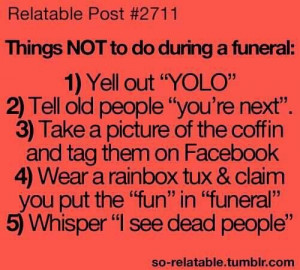 Some things you shouldn't do