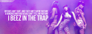 Nicki Minaj Beez In The Trap Quote Nicki Minaj & Chris Brown Right By ...