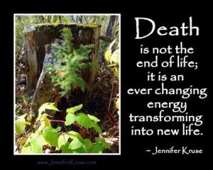 Death Quote Quot Energy