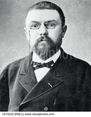 Portrait of Henri Poincare French mathematician