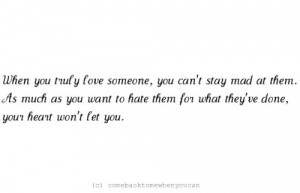 You Truly Love Someone…: Quote About When You Truly Love Someone ...
