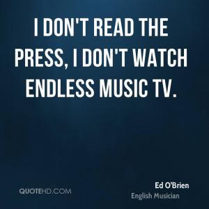 Ed O'Brien Quotes