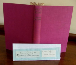 ... SCENES More Plays of Queen Victoria Signed by Author LAURENCE HOUSMAN