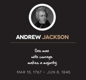 Andrew Jackson Racist Quotes Quotesgram