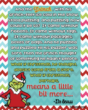... something more… Christmas movie quotes. Several free printables