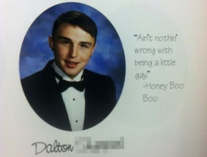 funny yearbook quotes honey boo boo