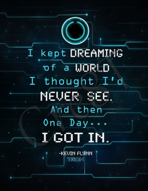 Disney Tron Legacy Movie Quote Print by Cre8T on Etsy, $2.00 Hey guys ...