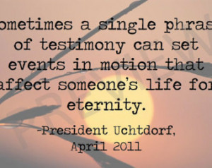 Missionary Quote Lds Mormon
