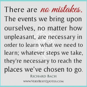 Mistake quotes richard bach quotes personal growth quotes