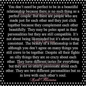 Beautiful Relationship ..