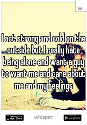 ... Life Wish, Quotes About Being Lonely, Sadness Quotes, Hate Being Alone