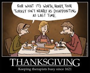 Thanksgiving Funny Cartoon