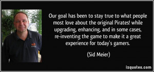 More Sid Meier Quotes