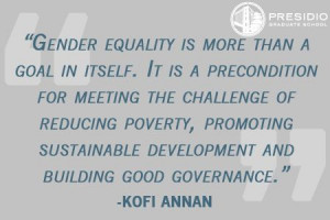 Gender #equality is more than a goal in itself. It is a precondition ...