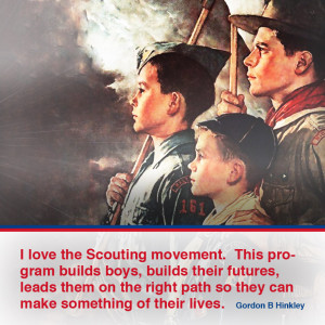 Mormon Congregations Support Boy Scout Troops