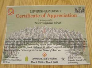 Certificate Of Appreciationjpg Picture