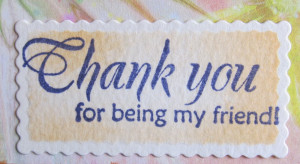 Thank You For Being Friend Quotes Special