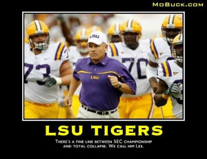 LSU is not Kent State or Toledo or Illinois