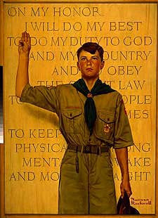 THE SCOUT OATH: