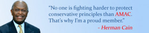 Herman Cain Quote Banner