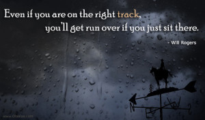 Motivational Thoughts-Quotes-Will Rogers-Track-Run-Best Quotes-Nice