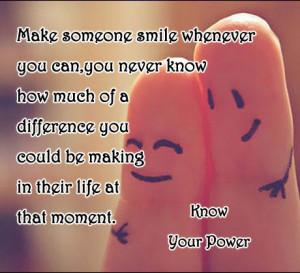 Quotes Make Someone Smile