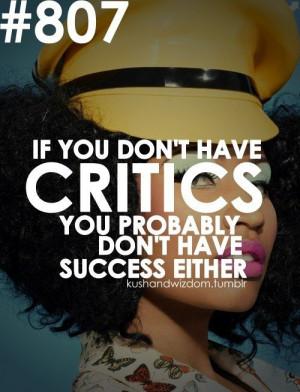 Nicki minaj, quotes, sayings, critics, success, true