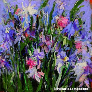 ... flowers oil painting,dafen oil painting village. - Flower