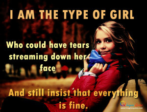 am the type of girl