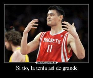 Yao Ming Facebook Enquanto