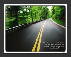 The Road Ahead Desktop Wallpaper Background